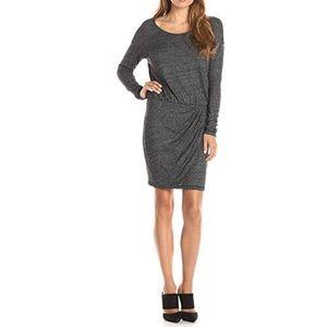 Three Dots   Long Sleeve Slub Sweater Dress